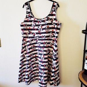 Mickey and Minnie Torrid Dress - Plus Size